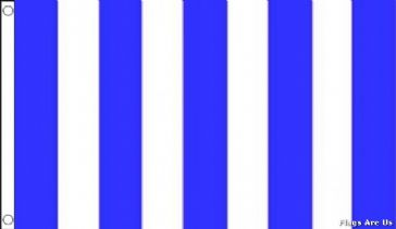 Blue & White Striped